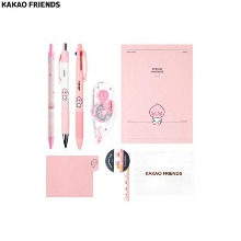 KAKAO FRIENDS ICONS Stationery Set 8items,Beauty Box Korea