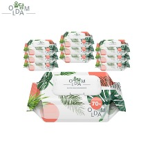 OLDAM Wet Tissue 70ea 10pack,Beauty Box Korea