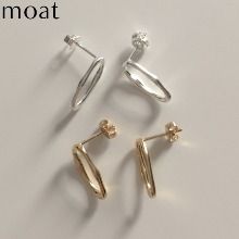 MOAT Ideal Earring (Silver925) 1pair,Beauty Box Korea