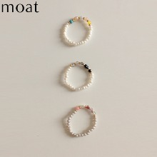 MOAT Mix Beads Ring #Pink 1ea,Beauty Box Korea
