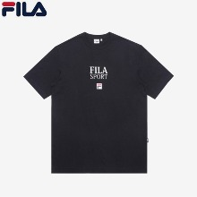 FILA Sports F Logo Loose Fit Short Sleeved T-Shirt (FE2RSC5304X_BLK) 1ea,Beauty Box Korea