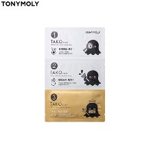 TONYMOLY Tako Pore Gold King 3-Step Nose Pack 3g