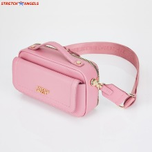 STRETCH Flap Multi Panni Bag #Pink (SUMR22011-PK) 1ea,Beauty Box Korea