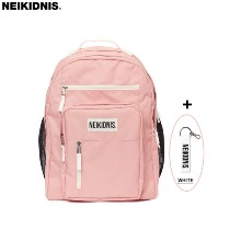 NEIKIDNIS Travel Backpack Indi Pink + Keyholder White 1set,Beauty Box Korea