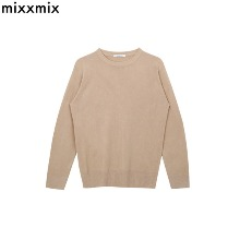 MIXXMIX 365BASIC Round Neck Knit Top 1ea,Beauty Box Korea