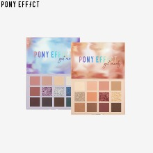 PONY EFFECT Get Ready with Me Shadow Palette 15.6g