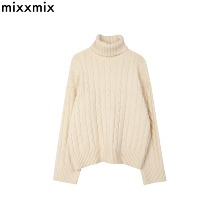 MIXXMIX Cable Knit Turtleneck Sweater 1ea,Beauty Box Korea