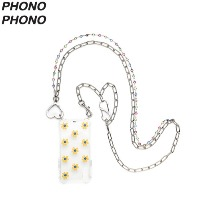 PHONO PHONO LOVE Cubic Layered Chain Case 1ea,Beauty Box Korea