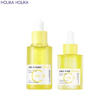 HOLIKA HOLIKA Gold Kiwi Vita C+ Brightening Serum Special Set 3items