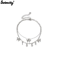 SWIMCITY L O B E Glitter Necklace 1ea,Beauty Box Korea
