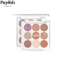 PURPLISH Personal All Day Use Palette 0.7*9colors