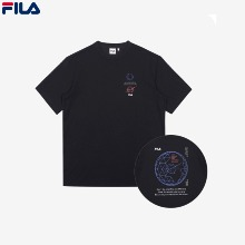 FILA Voyager Collection Loose Fit Graphic (FS2RSC2B01X_BLK) 1ea,Beauty Box Korea