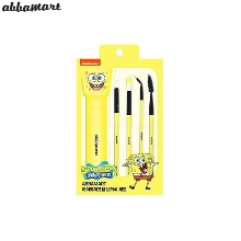 ABBAMART Spongebob Eye Brush Set 5items [ABBAMART X SPONGEBOB]
