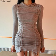 TO BE MOOD Shirring Hood One-Piece 1ea,Beauty Box Korea