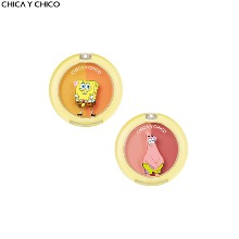 CHICA Y CHICO One Happy One Touch Ppyam Ppyam Duo Blusher 5g [SPONGEBOB Limited Edition]