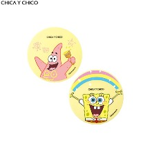 CHICA Y CHICO One Happy Thin Layer Cover Cushion SPF50+ PA+++ 11g [SPONGEBOB Limited Edition]