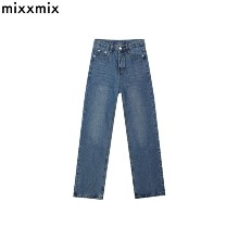 MIXXMIX NEVERM!ND Whisker Wash Straight Cut Jeans 1ea,Beauty Box Korea