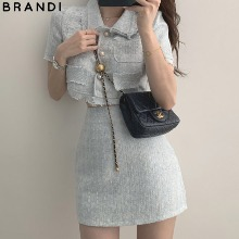 BRANDI AUBEZEST Bay Tweed Two Piece 1ea,Beauty Box Korea
