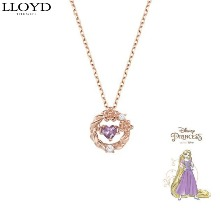 LLOYD Silver Awesome Heart Necklace 1ea [LLOYD X DISNEY Princess]