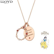 LLOYD Silver Antique Frame Necklace 1ea [LLOYD X DISNEY Princess]