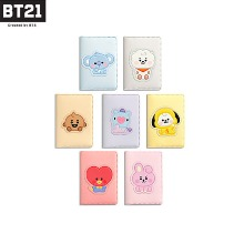 BT21 Baby Leather Patch Card Case 1ea [BT21 x MONOPOLY]