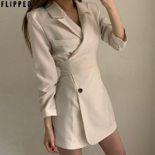 FLIPPED Button Jacket One-Piece 1ea,Beauty Box Korea