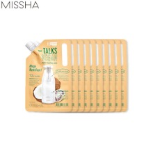 MISSHA Talks Vegan Squeeze Pocket Sleeping Pack 10g*10ea,Beauty Box Korea