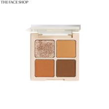 THE FACE SHOP Fmgt Quad Eyeshadow Palette 1.2g*4colors [Fmgt X Melanie Johnsson Tropical Vibe Edition]