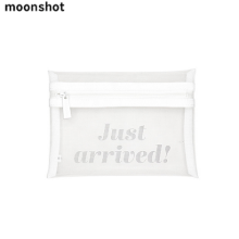 MOONSHOT White Mesh Pouch 1ea,Beauty Box Korea