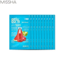 MISSHA Talks Vegan Squeeze Sheet Mask 27g*10ea,Beauty Box Korea