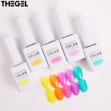 THE GEL Fruit Cocktail Edition Syrup Gel Nail Set 5items