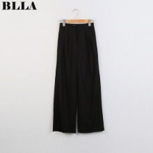 BLLA Ice Long Fit Pintuck Slacks 1ea,Beauty Box Korea