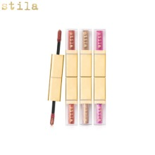 STILA Double Dip Duo Suede Shade Glitter & Glow Liquid Eye Shadow 2.25ml+2.25ml