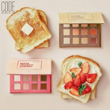 CODE GLOKOLOR Toast Shadow Palette 1g*12colors