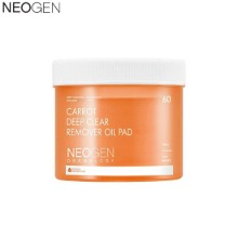 NEOGEN Dermalogy Carrot Deep Clear Remover Oil Pad 60ea 150ml