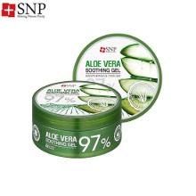 SNP Aloe Vera 97% Soothing Gel 300g,Beauty Box Korea