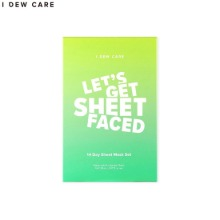 I DEW CARE Let's Get Sheet Faced 14 Day Sheet Mask Set 14items