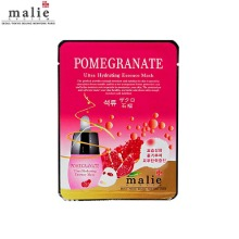 MALIE Pomegranate Ultra Hydrating Essence Mask 25g,Beauty Box Korea