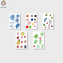 GARCONTIMIDE Tattoo Sticker Color Set 5items