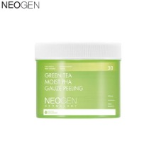 NEOGEN Dermalogy Green Tea Moist PHA Gauze Peeling 30ea 190ml