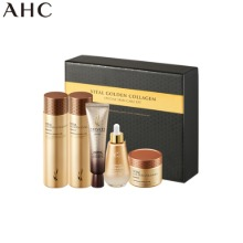 AHC Vital Golden Collagen Special Skin Care Set 5items