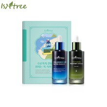 ISNTREE Water Essence + Mugwort Ampoule Double Special Set 2items