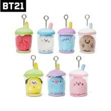 BT21 Baby Boucle Bubble Tea Bag Charm 1ea
