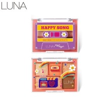LUNA Daily Crush Eyeshadow Palette 0.7g*5colors [LUNA X WIGGLE WIGGLE Happy Song]