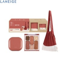 LANEIGE BFF Edition Set 3items (Neo Cushion + Eye Palette + Knit Bag) [LANEIGE X JOSEPH&STACEY],Beauty Box Korea