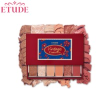 ETUDE HOUSE Play Color Eyes Mini #Vintage Camellia 0.9g*6colors [Drugstore Excl.]