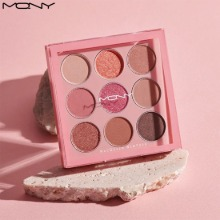 MACQUEEN NEWYORK 1001 Tone-On-Tone Shadow Palette Pro 9 #Pink Mode 9g