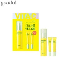 GOODAL Green Tangerine Vita C Dark Circle Eye Cream Special Set 3items