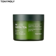 TONYMOLY The Chok Chok Green Tea No-wash Cleansing Pads 60ea 120ml [Online Excl.]