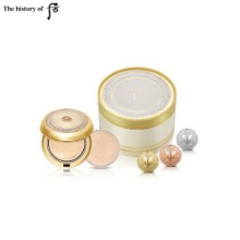 THE HISTORY OF WHOO Gongjinhyang Mi Luxury Golden Cushion Special Set 5items